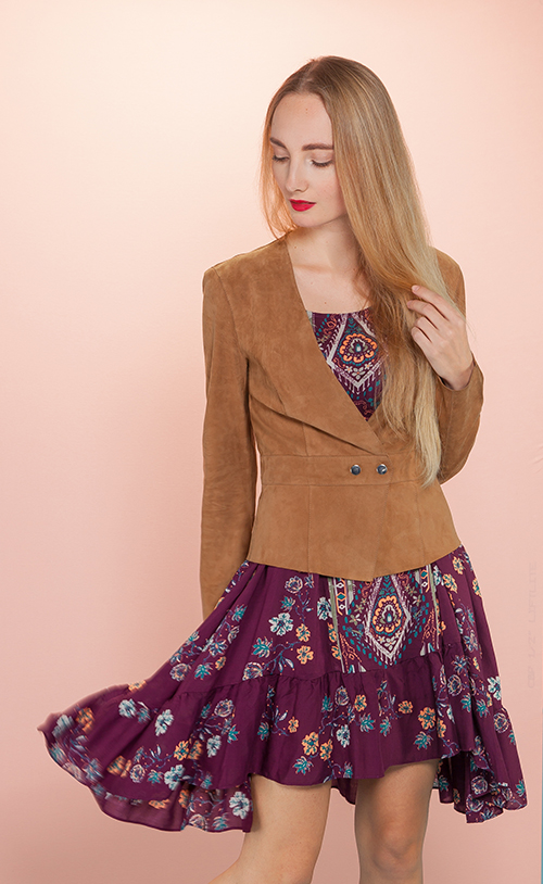 Y-2025 PERRY Peplum Jacket
